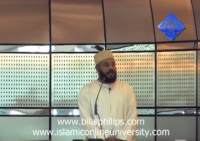 25th March 2011 - Khutbah at Aspire Mosque
