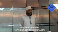 15th October 2010 - Khutbah at Aspire Mosque (2-3)
