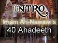 Imaam An-Nawawi's 40 Ahadeeth Introduction Film