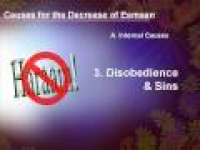 Running on Empty - Disobedience and Sins