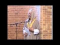 Jumah Khutbah in Denver,CO - Imam Mutahhir Sabree