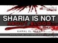 Sharia Is Not About Blood ᴴᴰ - Islamic Reminder