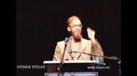 The Purpose Of Life 1 (Part 1 of 3) - Khalid Yasin Lecture
