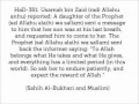 HaD-351 -- Self-composure during tribulation - hadithaday.org
