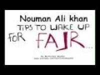 Tips for Fajr | Nouman Ali Khan | Illustrated