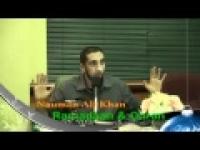 Blessed Guest - Ramadan and the Quran - Nouman Ali Khan
