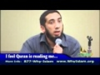 I feel Quran is reading me-Nouman Ali Khan