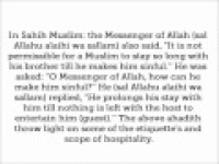 HaD-233 --The Rights of a Guest - hadithaday.org