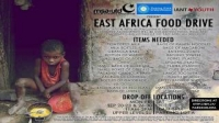 East Africa Food Drive Oct 1st
