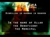 [01] Surah Al-Fatiha [The Opening]