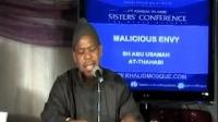 Hasad Malicious Envy by Abu Usamah At-Thahabi.