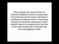HaD-47 - The Muslims Grey Hair - hadithaday.org