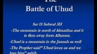Shaykh Anwar Awlaki - The Battle Of Uhud Part 3/5
