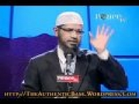 Is The Qur'aan God's Word? By Dr. Zakir Naik, Part 8 (Peace Conference, 2009)