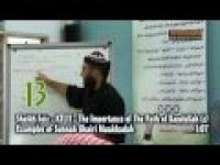 Sheikh Feiz : 13. Examples of Sunnah Ghairi Muakkadah - TIOTPOR Part 2