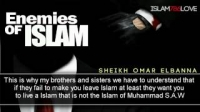 Enemies Of Islam    Sheikh Omar Elbanna ᴴᴰ