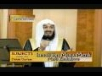 Mufti Menk- Miserliness (Stinginess) Part (2/3)