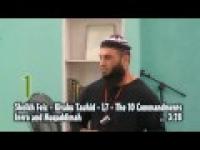Sheikh Feiz -Intro & Muqaddimah - Seg 1 -The 10 Commandments