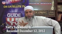 Let`s Talk About It 12-12-2012 with Imam Karim AbuZaid