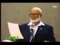 Ahmad Deedat Speaks On Zionist Jews Inviting Thier Own Death
