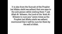 HaD-20: Ticket No.20 - Visiting a Sick Muslim - hadithaday.org