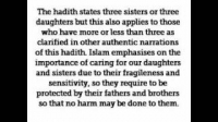 HaD-17: Ticket No.17 - Looking After One's Daughters or Sisters - hadithaday.org