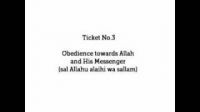 HaD-3: Ticket No.3 - Obedience towards Allah and His Messenger - hadithaday.org