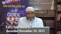 Let`s Talk About It 11.24.2012 with Imam Karim AbuZaid