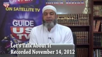 Let`s Talk About It 11.14.2012 with Imam Karim AbuZaid