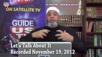 Let`s Talk About It 11.19.2012 with Imam Karim AbuZaid