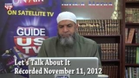 Let`s Talk About It 11.11.2012 with Imam Karim AbuZaid