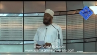 1st October 2010 - Khutbah at Aspire Mosque (2-3)