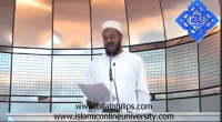 30th July 2010 - Khutbah at Aspire Mosque (3-3)