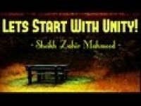 Lets Start With Unity! ᴴᴰ ┇ Powerful Speech ┇ Shaykh Zahir Mahmood ┇ The Daily Reminder ┇