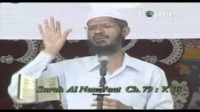 Dr Zakir Naik speaking about Astronomy in islam