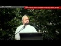 Community protest for Syria - Sh. Mostafa Mohamed [Jan 2012, Syd, Australia