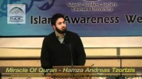 The Miracle of The Qur'an Hamzah Andreas Tzortzis
