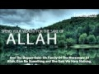 Spend Your Wealth For The Sake Of Allah - by Sheikh Zahir Mahmood [HD]
