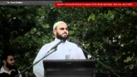 Muslim Community Protest for Syrian Uprising - All talks & videos [Sydney, Australia Jan 2012]