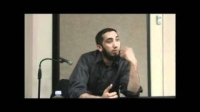 The Coolness of the Eyes (قُرَّةَ أَعْیُنٍ) - Nouman Ali Khan - Part 4 of 5