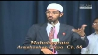 What Hindu Scriptures say about the killing of animals. Dr Zakir Naik.
