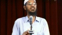 Why a Christian prefer to write Saint Before a name ? Dr Zakir Naik