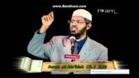 Dr Zakir Naik,saying that ayats do not contradict one another