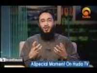 special moment on Huda TV( Convert to Islam)