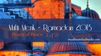 Mufti Menk -- Ramadan 2013 -- Pearls of Peace -- 3 of 27