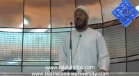 28th May 2010 - Khutbah at Aspire Mosque (4-4)