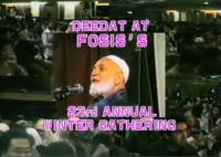 Deedat At Fosis's 23rd Annual Winter Gathering - Sheikh Ahmed Deedat
