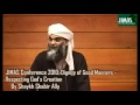 JIMAS Conference 2010: Dignity of Good Manners - Respect for God's Creation ( Q & A Session