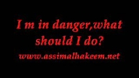Im in danger ! What should I do.?