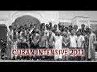 Quran Intensive 2011: Day 30 - Graduation